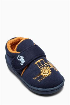 Tractor Slippers (Younger Boys)