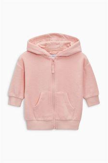 Zip Through Fleece (3mths-6yrs)
