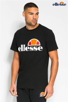 Ellesse Heritage Black Iconic Cotton T-Shirt