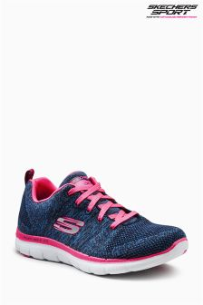 Skechers® Navy/Pink Flex Appeal 2.0