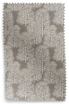 Stitched Jacquard Dark Natural Fabric Roll
