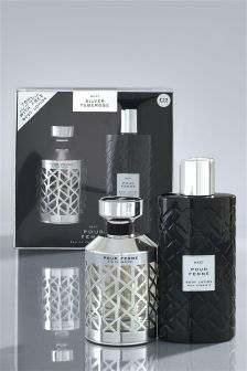 Silver Tuberose 75ml Gift Set