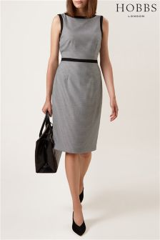 Hobbs Grey Sian Dress