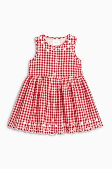 Gingham Dress (3mths-6yrs)