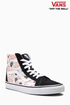 Vans Black/Pink Poppy Sk8 Hi