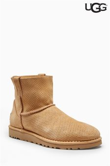 UGG® Suede Classic Unlined Mini Perforated Boot