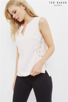 Ted Baker Nude Lace Back Top