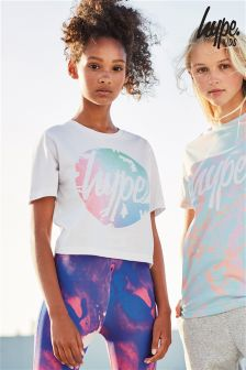 Hype Printed Crop Tee