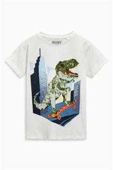 Dino Skate T-Shirt (3-16yrs)