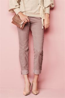 Cord Turn-Up Trousers