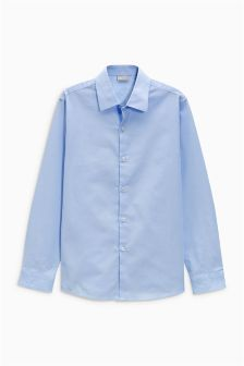 Long Sleeve Smart Oxford Shirt (12mths-16yrs)