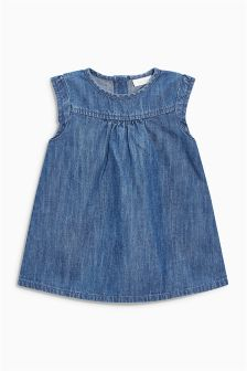 Denim Dress (0mths-2yrs)