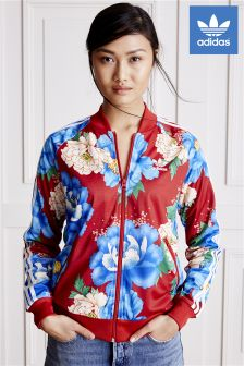 adidas Originals Floral Track Top