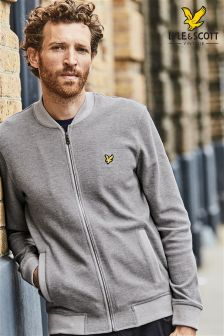Lyle & Scott Jersey Bomber Jacket