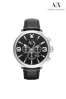 Black Armani Exchange ATLC Watch