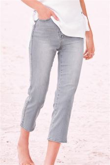 Women's Cropped Jeans | Ankle Grazer Jeans | Next Official Site