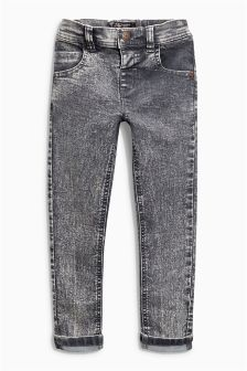 Stretch Snow Wash Jeans (3mths-6yrs)