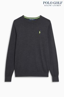 Ralph Lauren Golf Heather Crew Jumper