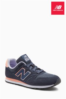 New Balance Dark Grey/Pink 373
