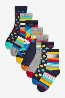 Wool Mix Cable Socks Three Pack