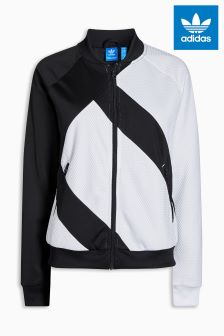 adidas Originals Black/White EQT Track Top