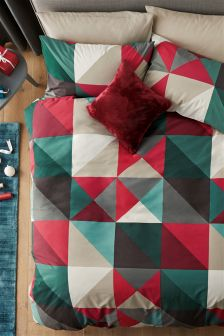 Triangle Geo Bed Set