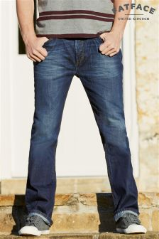 Fat Face Denim Blue Mid Vintage Straight Leg Jean