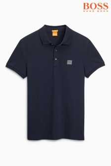Boss Orange Navy Basic Polo