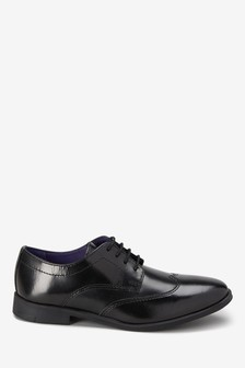 Formal Leather Lace-Up Shoes (Older Boys)