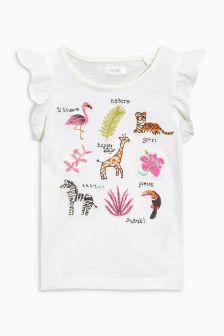 Appliqué Character T-Shirt (3mths-6yrs)