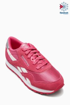 Reebok Pink Classic Nylon Trainer