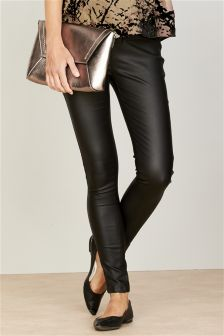 Super Skinny Coated Maternity Jeans
