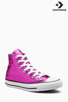 Converse Metallic Pink Chuck Taylor All Star Hi