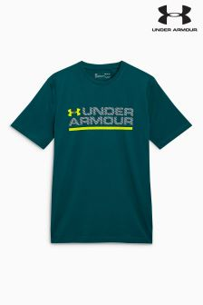 Under Armour Arden Green Workmark T-Shirt