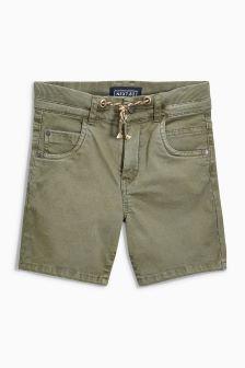 Rib Waist Shorts (3-16yrs)
