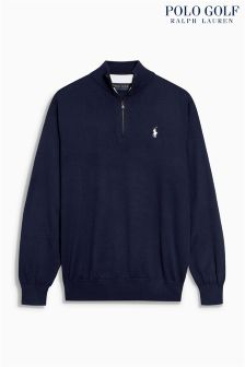 Ralph Lauren Golf Royal Half Zip Jumper