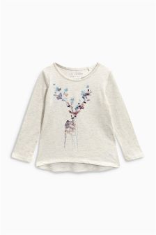 Embellished T-Shirt (3-16yrs)
