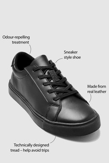 Clean Lace-Up Leather Shoes (Older)