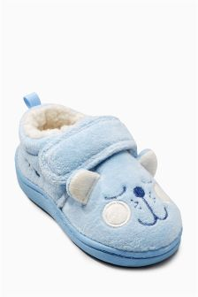 Bear Slippers (Younger Boys)