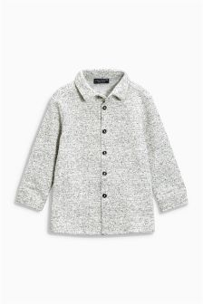 Long Sleeve Textured Jersey Shirt (3mths-6yrs)
