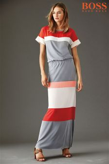 Boss Orange Multi Stripe Maxi Dress
