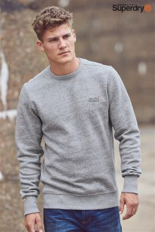 Superdry Grey Crew Neck Sweat