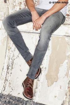 G-Star Revend Grey Wash Super Slim Jean