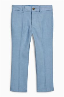 Chambray Suit Trousers (12mths-16yrs)