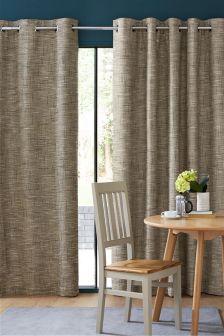 Tonal Blend Eyelet Curtains