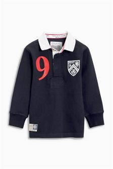 Long Sleeve Rugby Shirt (3-16yrs)