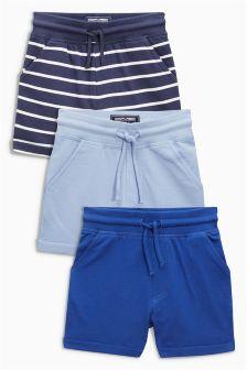 Shorts Three Pack (3mths-6yrs)