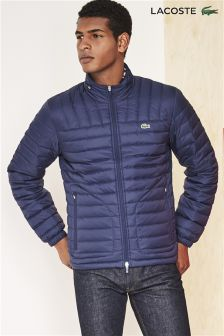 Lacoste® Navy Lightweight Padded Jacket