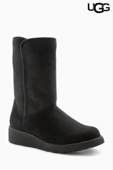 Ugg® Black Classic Slim Amie Short Boot