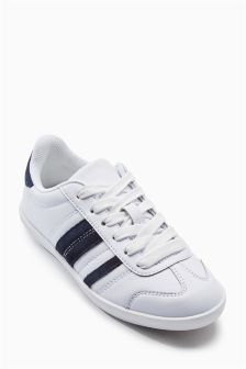 Suede Stripe Trainers (Older Girls)
